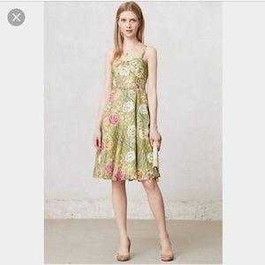 Girl from Savoy silk Rose Bramble dress size 6